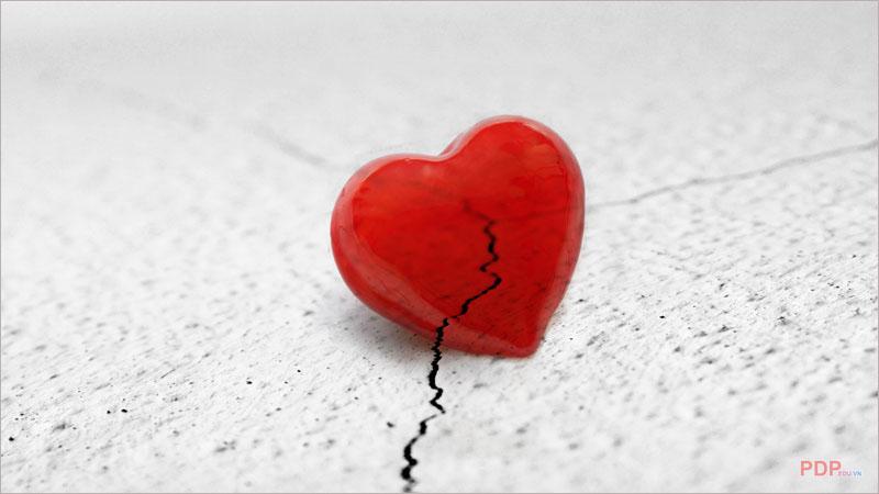 Hình ảnh trái tim buồn đẹp nhất