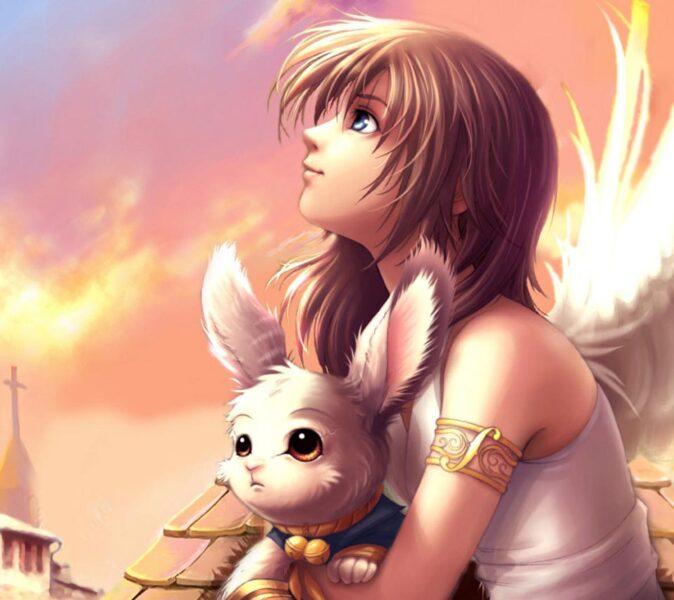 Avatar angel cho con gái