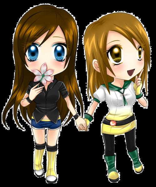 Avatar anime làm đại diện bff cho tình bạn thân