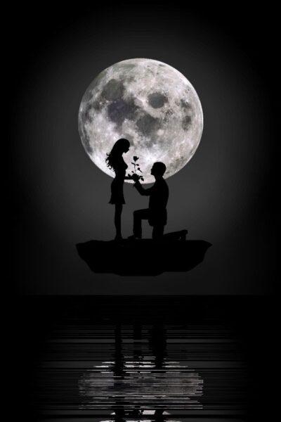 avatar cặp đen đẹp cho lứa đôi yêu nhau