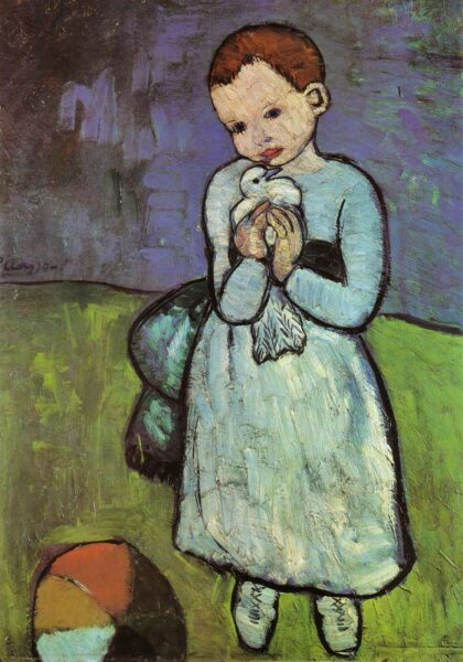 Bức tranh đầu tay của Picasso
