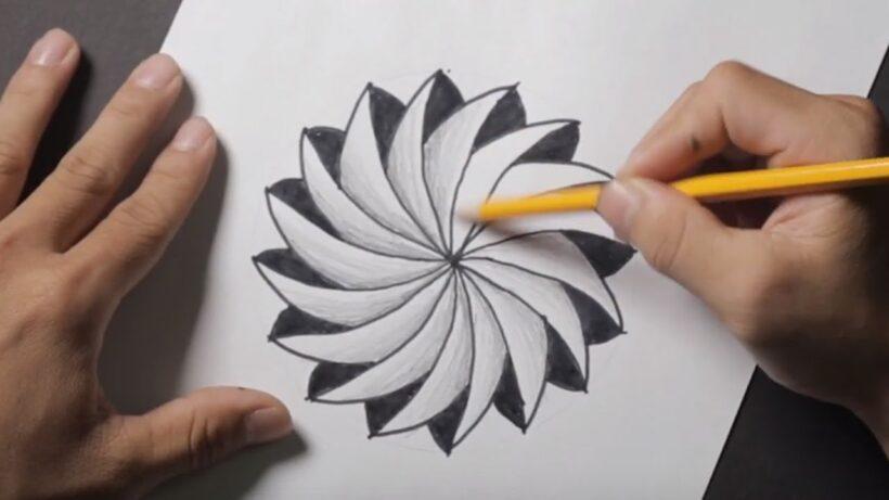 Cách vẽ tranh 3D