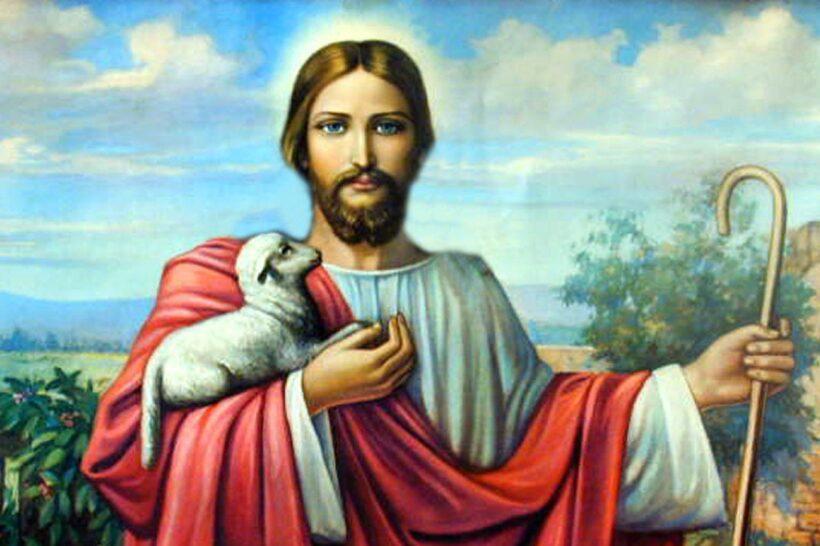 Chúa Giesu và cừu con