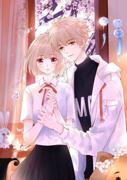 hình ảnh anime cặp đôi yêu nhau