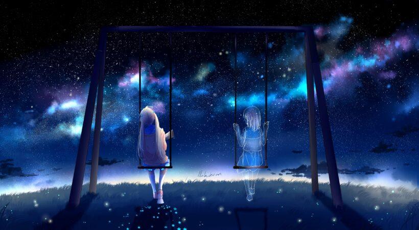 hình ảnh anime cô đơn