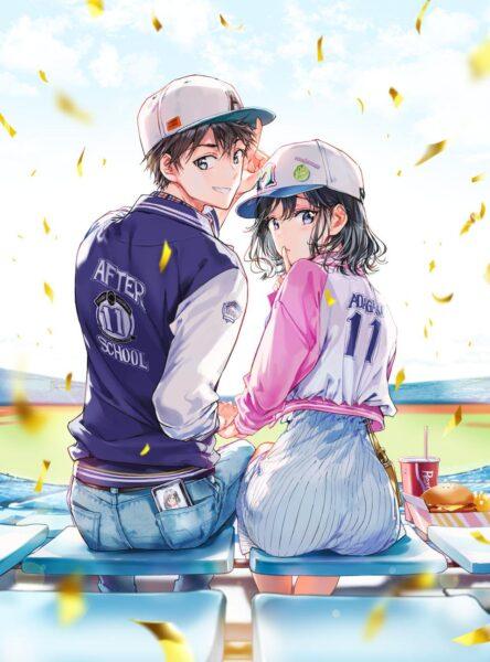 hình ảnh anime đôi học sinh