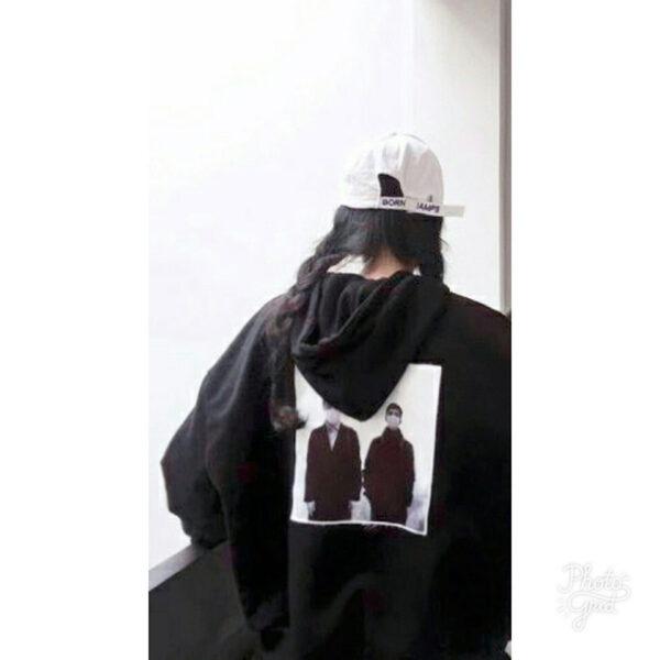 hình ảnh avatar cặp đen bff nữ tóc đen