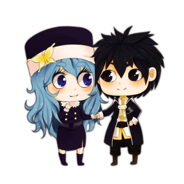 Hình ảnh avatar cặp đôi anime cute, dễ thương