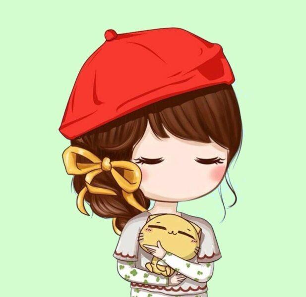 Hình ảnh avatar chibi cute cho con gái