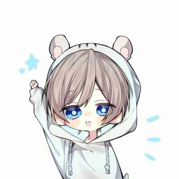 Hình ảnh avatar chibi dễ thương cho con gái