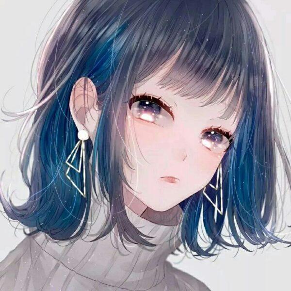 Hình ảnh avatar cho con gái buồn dễ thương