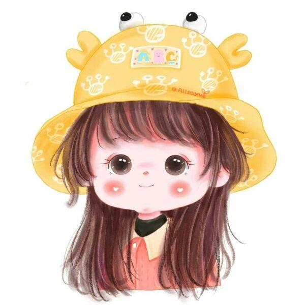 Hình ảnh avatar cho con gái cute