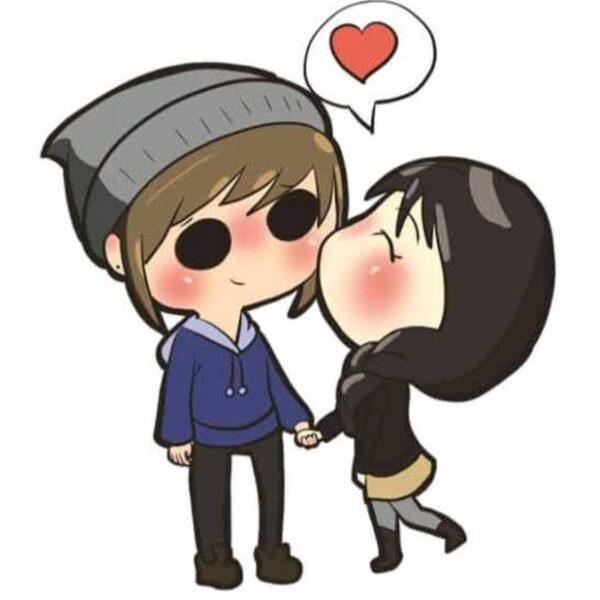 Hình ảnh avatar dễ thương cho cặp đôi