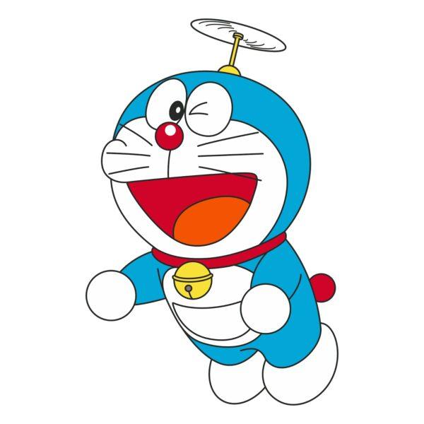Hình ảnh avatar Doremon và chong chóng tre
