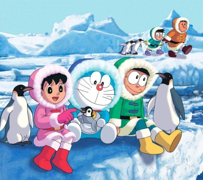 Hình ảnh avatar Doremon và những người bạn thân