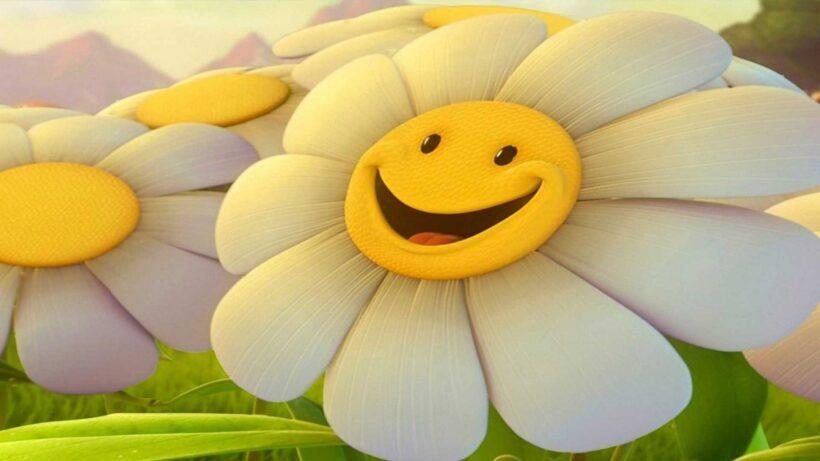 Hình ảnh bông hoa mặt cười đẹp