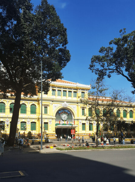Hình ảnh bưu điện thành phố Sài Gòn