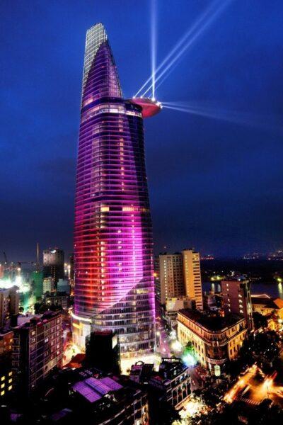 Hình ảnh cao ốc ở Sài Gòn