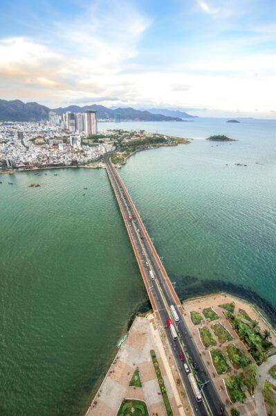 Hình ảnh cầu Trần Phú thành phố Nha Trang