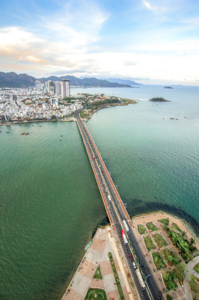 Hình ảnh cây cầu đẹp ở Nha Trang