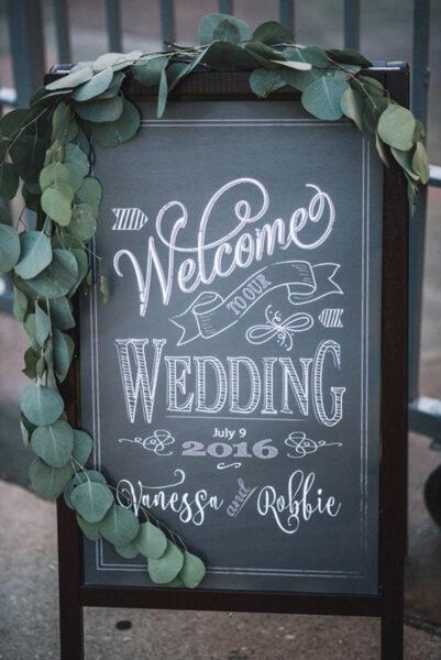 hình ảnh chào mừng đến dự đám cưới