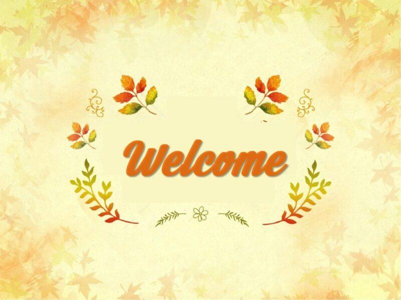 hình ảnh chào mừng đẹp đơn giản