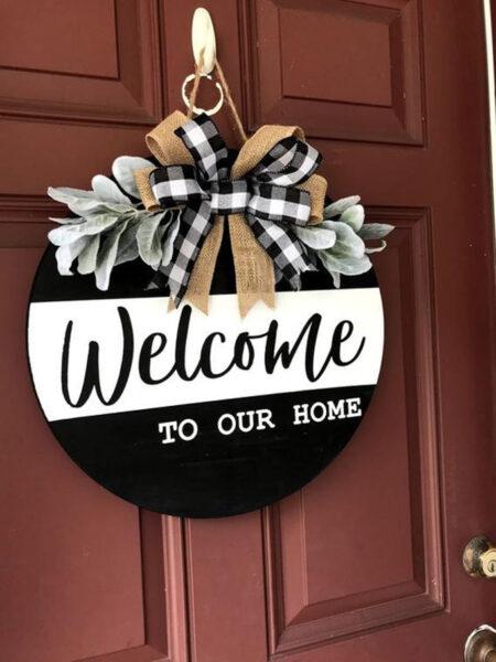 hình ảnh chào mừng - welcome to our home