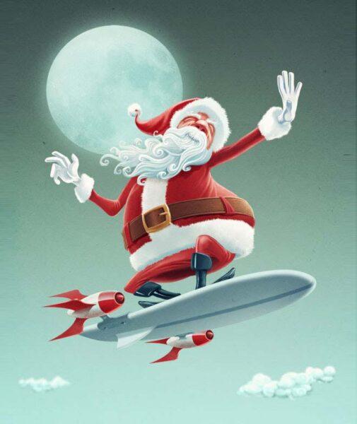 Hình ảnh chế ông già Noel