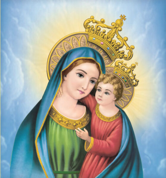Hình ảnh chúa Giesu và mẹ của người
