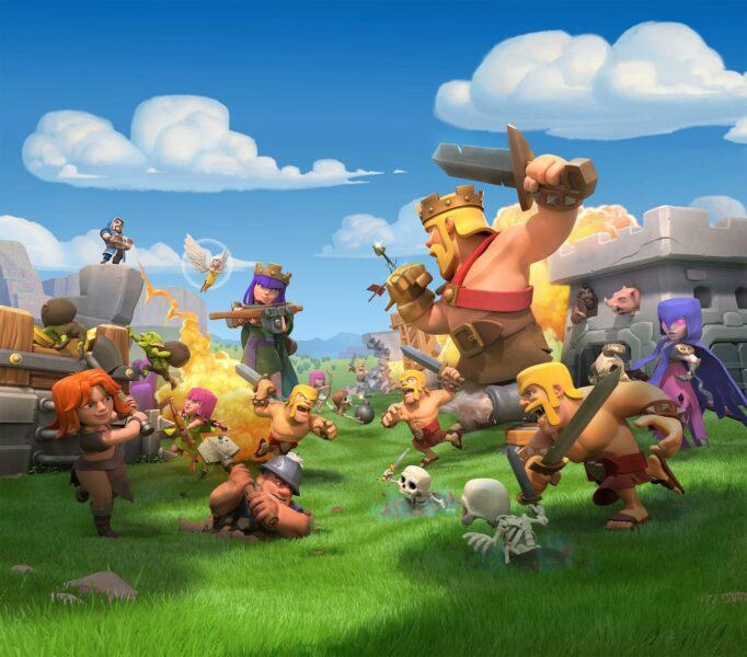 Hình ảnh Clash Of Clans cuộc chiến vui nhộn