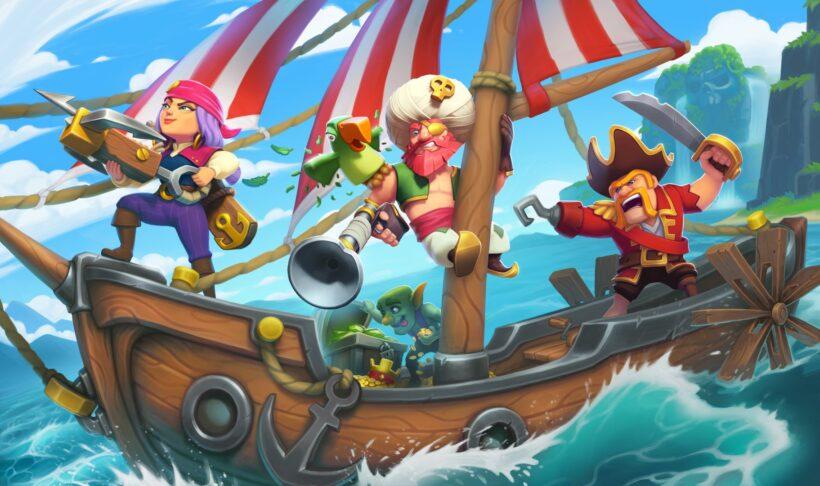 Hình ảnh Clash Of Clans cướp biển