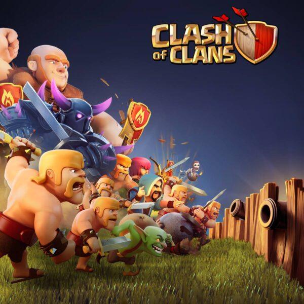 Hình ảnh Clash Of Clans đẹp cute dễ thương