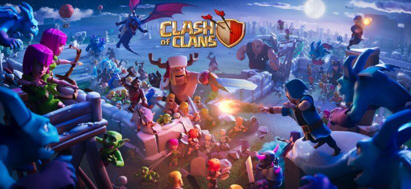 Hình ảnh Clash Of Clans đẹp và độc đáo