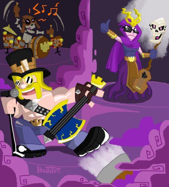 Hình ảnh Clash Of Clans hoạt hình
