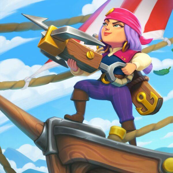 Hình ảnh Clash Of Clans nữ thuyền trưởng