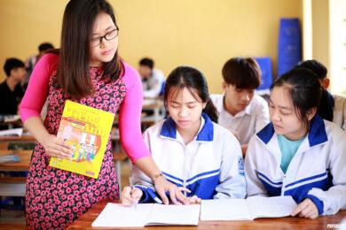 hình ảnh cô giáo và học sinh đẹp