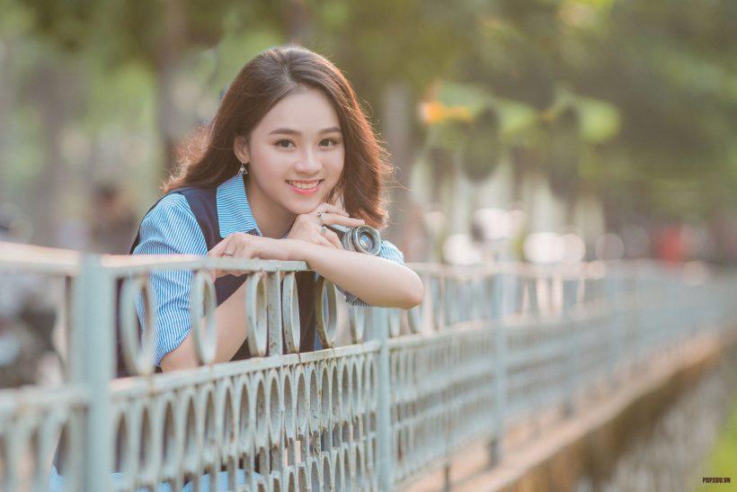 hình ảnh cười đẹp của hot girl