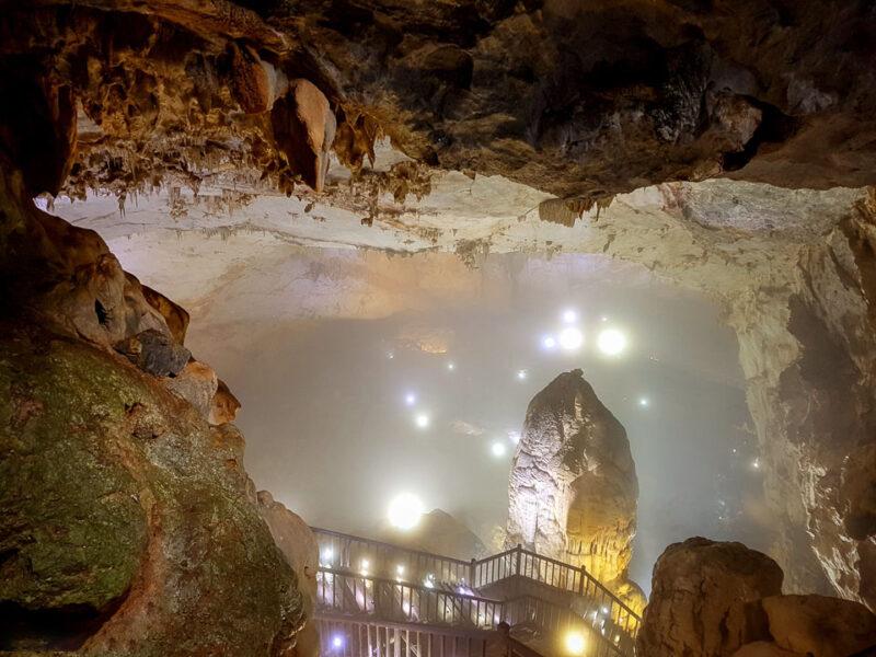 hình ảnh đá thạch nhũ đỉnh động Phong Nha Kẻ Bàng