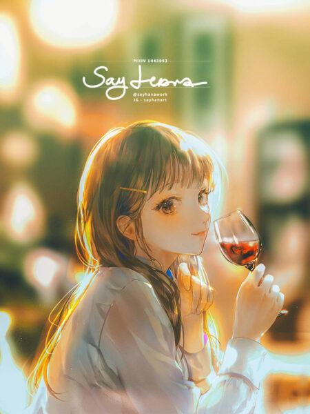 hình ảnh đại diện avt anime nữ dễ thương đẹp nhất