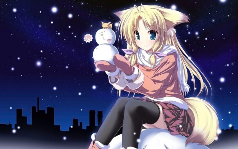 Hình ảnh đại diện avt anime và người tuyết