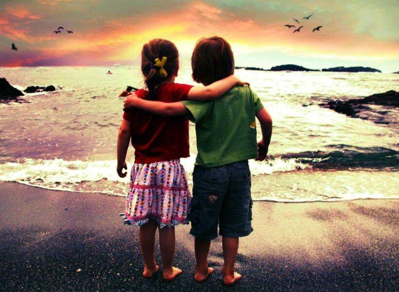 Hình ảnh đại diện bff tình bạn trẻ thơ
