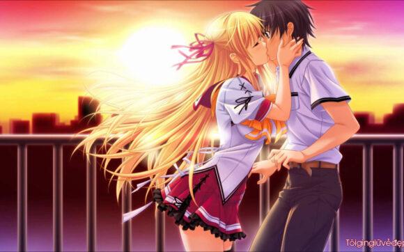Hình ảnh dễ thương về tình yêu ngọt ngào