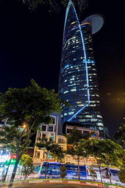 Hình ảnh đêm Sài Gòn cực đẹp