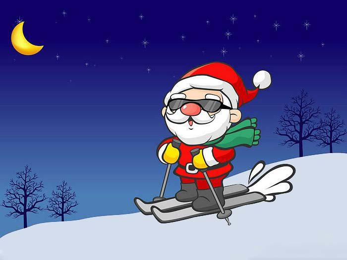 Hình ảnh đẹp và ngộ nghĩnh về ông già Noel