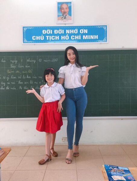 hình ảnh đẹp về cô giáo nhí nhảnh