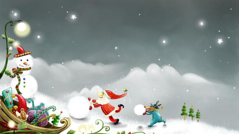 Hình ảnh đẹp về ông già Noel