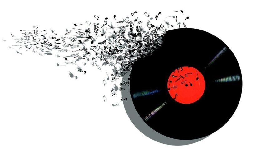 hình ảnh đĩa âm nhạc cổ điển