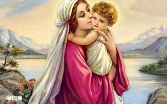 hình ảnh Đức Mẹ
