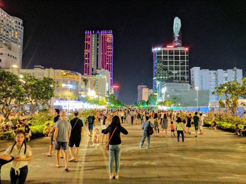 Hình ảnh đường Sài Gòn về đêm