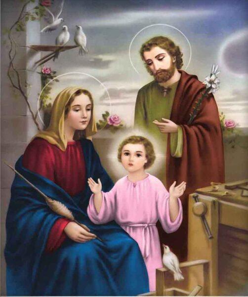 Hình ảnh gia đình thiên chúa